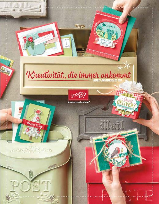 Stampin`Up! Herbst-/Winterkatalog 2017