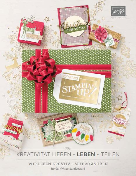 Stampin`Up! Herbst-/Winterkatalog 2018 – Out now!